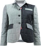 Thom Browne patchwork padded jacket