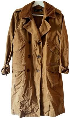 Ralph Lauren Brown Cotton Trench Coat for Women