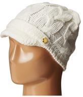 MICHAEL Michael Kors Cable Knit Peak Hat with Knit Brim