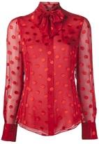 Jason Wu Ascot scarf blouse