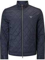 Gant Windcheater Collared Jacket, Navy