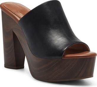 Jessica Simpson Shelbie Platform Slide Sandal