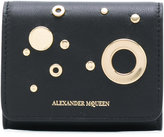 Alexander McQueen eyelet and stud coin purse