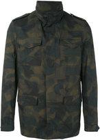 Etro camouflage print jacket - men - Cotton/Polyester/Acetate/Cupro - M