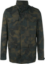 Etro camouflage print jacket - men - Cotton/Polyester/Acetate/Cupro - S