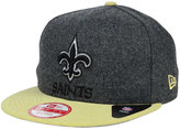 New Era New Orleans Saints Shader Melt 9FIFTY Snapback Cap