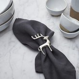 Crate & Barrel Reindeer Napkin Ring