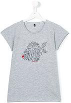 Armani Junior fish print T-shirt