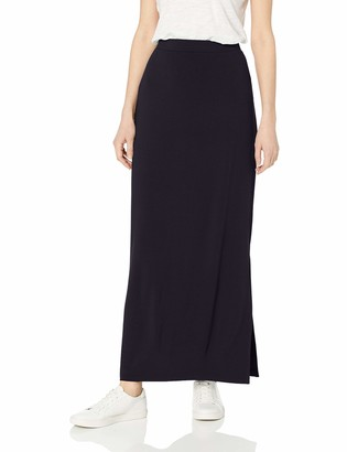 Daily Ritual Amazon Brand Women's Relaxed Fit Supersoft Column Skirt