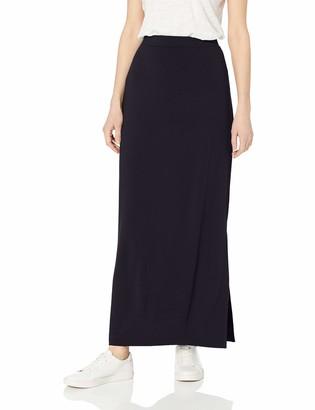 Daily Ritual Women's Supersoft Terry Standard-Fit Column Skirt