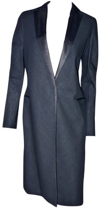 Martine Sitbon Black Wool Coat for Women Vintage