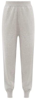 Extreme Cashmere - No. 56 Yogi Stretch-cashmere Track Pants - Womens - Grey