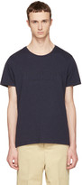 Burberry Navy Martford Logo T-Shirt