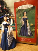 Hallmark 2001 Ornament Portrait Of Scarlett Gone With The Wind