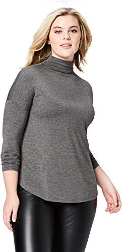 69abd3e18c9 Charcoal Grey Womens Turtleneck - ShopStyle