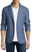 Robert Graham Mundu Plaid Woven Sport Coat, Blue
