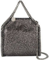 Stella McCartney Mini Black Metallic Falabella Shoulder Bag