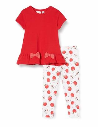 Chicco Girl's Completino 2 Pezzi Bimba: T-Shirt Manica Corta + Leggings Clothing Set