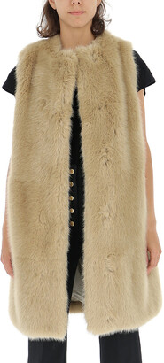 Stella McCartney Dover Faux Fur Vest