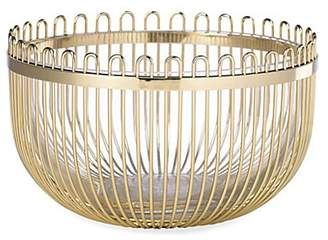 Kate Spade Keaton Street Goldplated Bowl