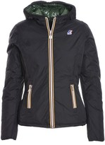 K-Way Women's Black Polyester Jacket.