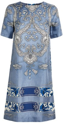 Etro Paisley Printed Shirt Dress