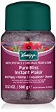 Kneipp Mineral Bath Salt, Pure Bliss, Red Poppy & Hemp, 17.63 fl. oz.