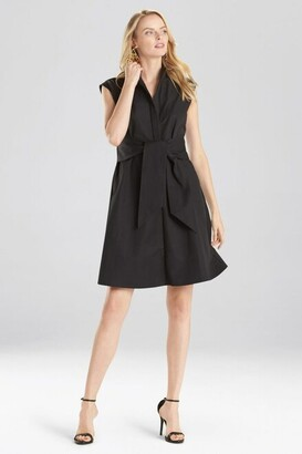 Natori Taffeta Sleeveless Dress