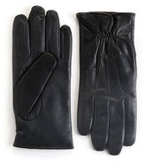 Black Brown 1826 Touch Screen Leather Gloves