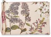 Whistles Hydrangea Print Wristlet