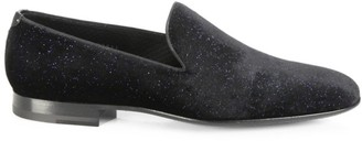Saks Fifth Avenue COLLECTION BY MAGNANNI Starry Night Velvet Smoking Slippers