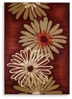 Dahlia 7-Foot 8-Inch x 10-Foot 5-Inch Rug in Terracotta