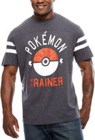 Pokemon Short Sleeve Crew Neck T-Shirt-Big and Tall
