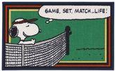 """Peanuts Friends Snoopy Tennis Rug - 18"""" x 30"""""""