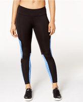 Calvin Klein Coldgear Brushed Fleece Colorblocked Leggings