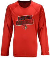 Champion Men's Louisville Cardinals Practice Squad Long Sleeve T-Shirt