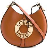 Loewe small 'Joyce' crossbody bag - women - Calf Leather/Sheep Skin/Shearling/Gold Plated Brass - One Size