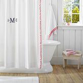 Pom Pom Shower Curtain, Pink