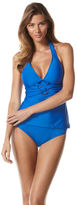 Perry Ellis Tranquil Tankini Top and Bottom