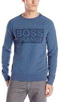 HUGO BOSS BOSS Orange Men's Wacce Padded Nylon Sweat with Logo