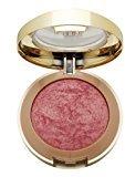 Milani Baked Powder Blush, Dolce Pink [01] 0.12 oz (Pack of 4)