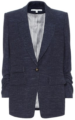 Veronica Beard Martel Dickey wool-blend blazer