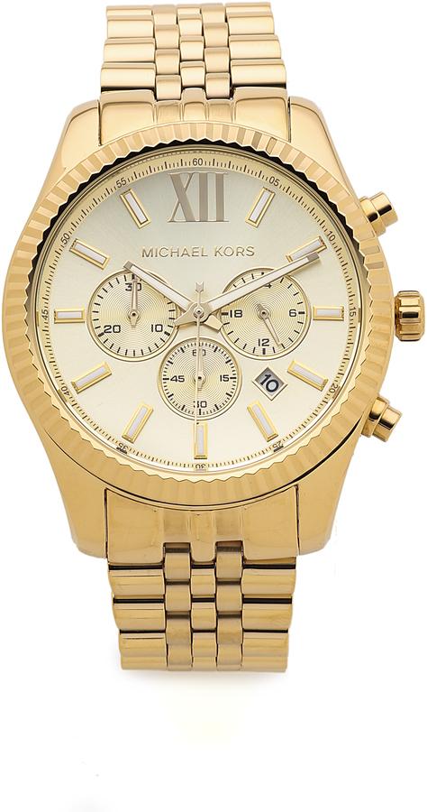 Michael Kors Men's Oversized Lexington Watch