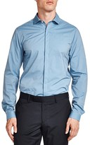The Kooples Clear Skies Slim Fit Button-Down Shirt
