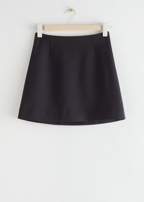 And other stories Straight Mini Skirt