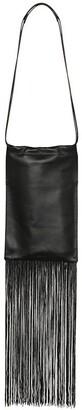 Jil Sander XS fringed leather shoulder bag