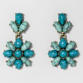 BaubleBar SUGARFIX by Floral Drop Earrings - Turquoise