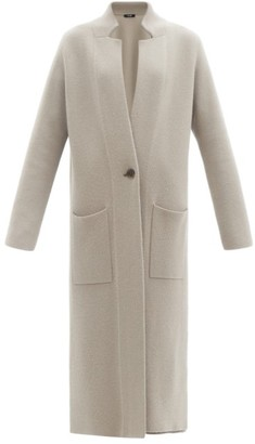 Lisa Yang - Amie Single-breasted Double-faced Cashmere Coat - Mid Grey