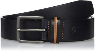 Original Penguin Men's Color Keeper Leather Belt