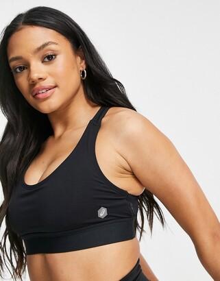 Asics performance bra in black